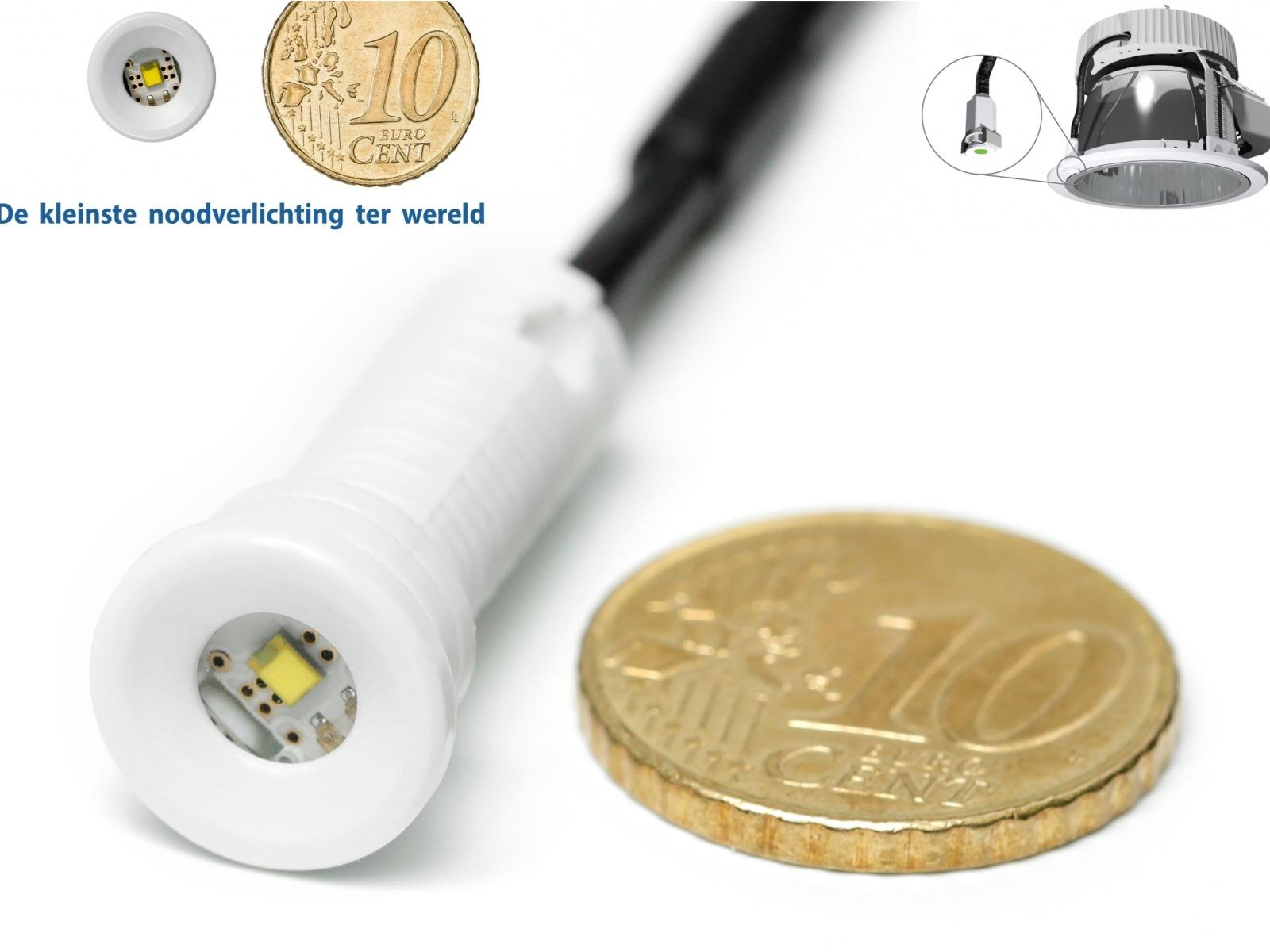 MicroZen, de kleinste noodverlichting ter wereld