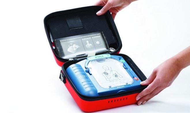 Philips Heartstart defibrillator HS1