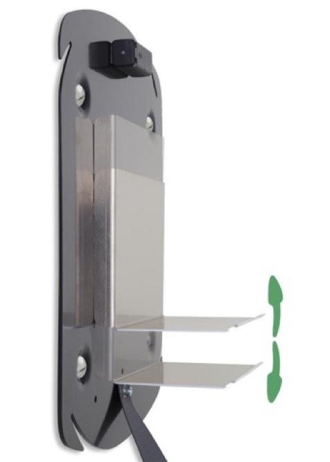 De Rotaid Swift AED wandkast met alarm