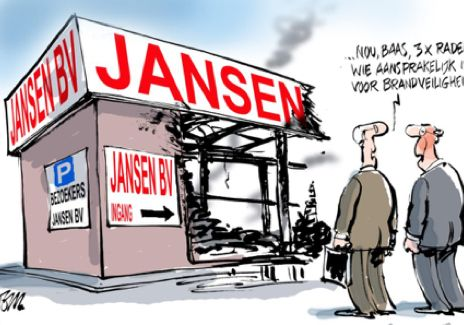 Cartoon: Tom Janssen / BBN